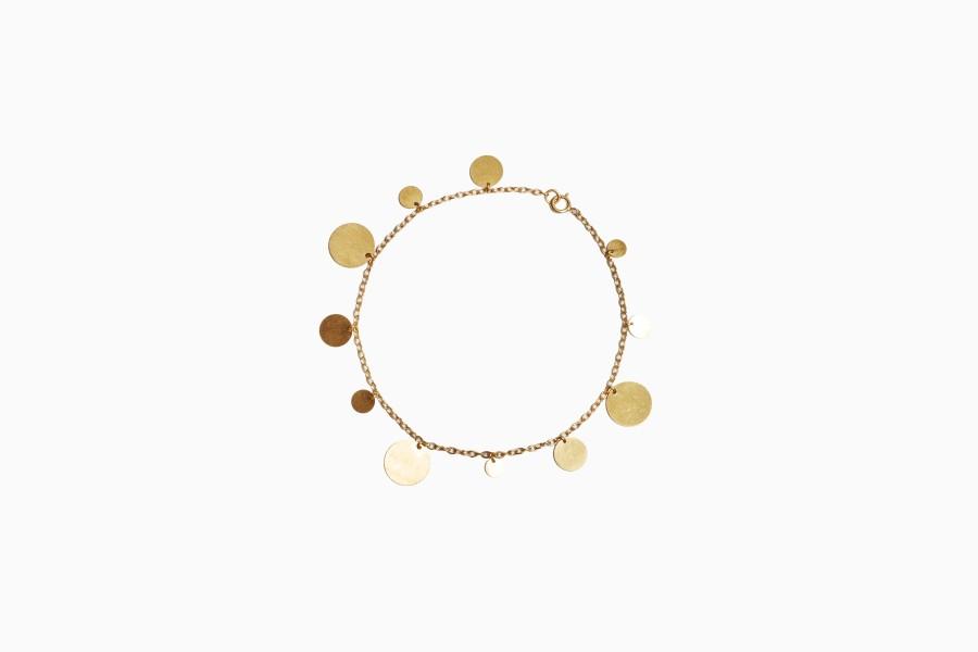 """Bracelet """"Paillettes d'Or"""")"""