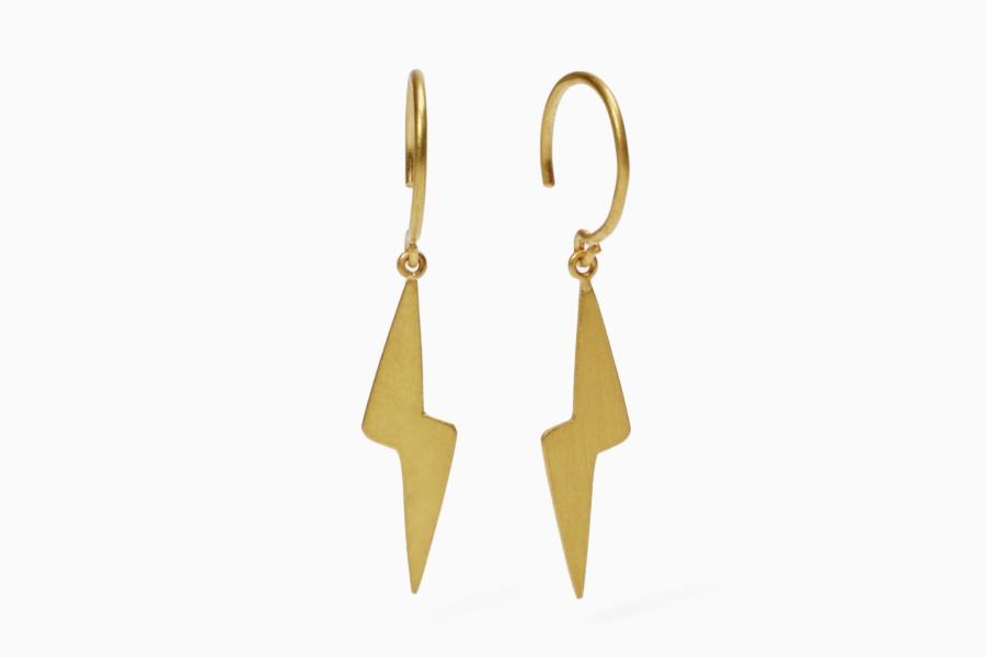 """""""Coup de Foudre"""" earrings)"""